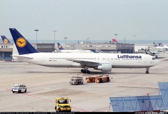 Phoenix Die Cast Models Lufthansa 767 300er Reg D Abuc Phoenix 04067 Scale 1 400 Eztoys