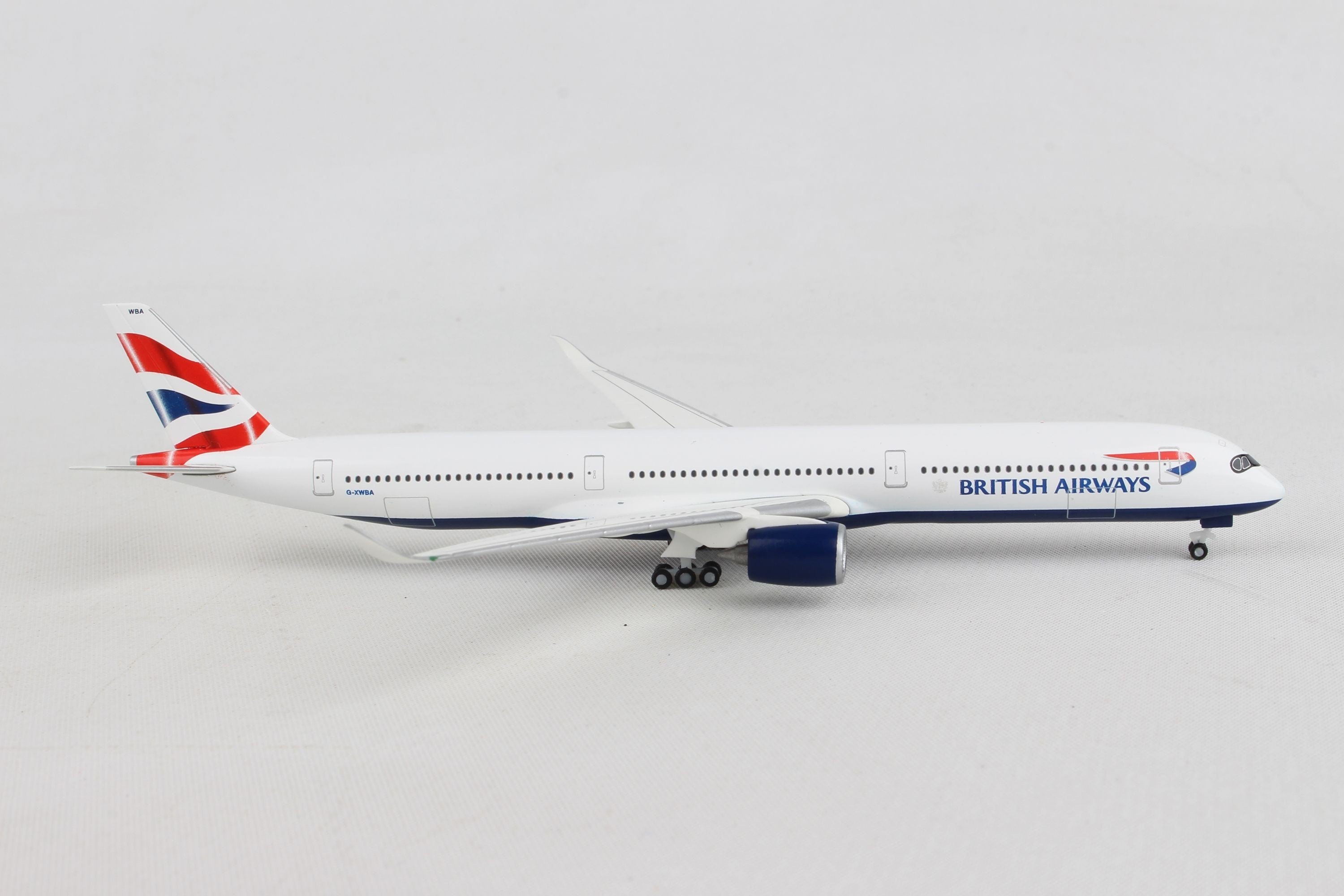 Herpa 533126 British Airways Airbus A350-1000 Collectable Wings Aeroplane Multi-Colour