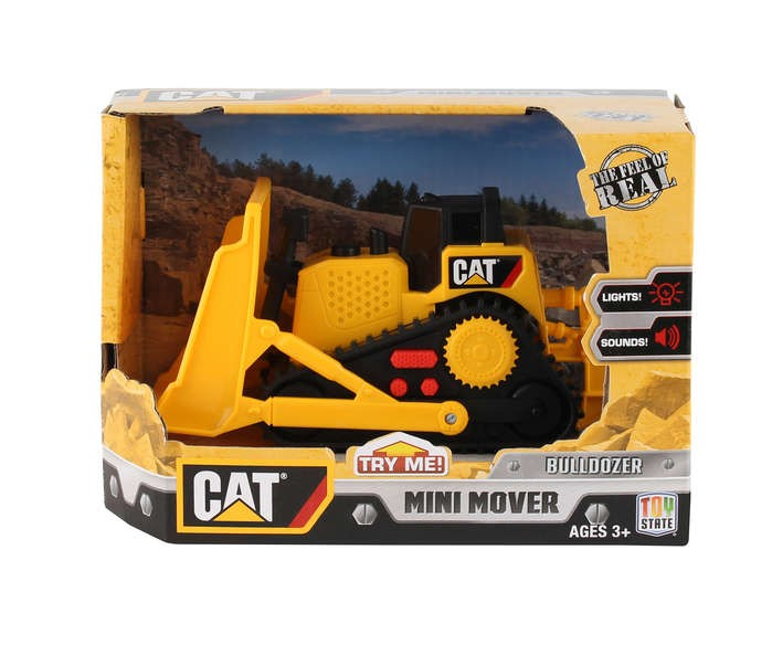 CAT Bulldozer With Sound & Lights Mini Mover Ages 3 ...