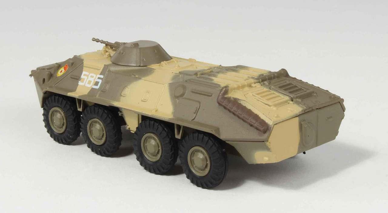 Armored Vehicles For Sale >> Highly detailed Eaglemoss diecast model BTR-70 APC Armored Vehicle Eaglemoss EM-R0083 Scale 1:72 ...