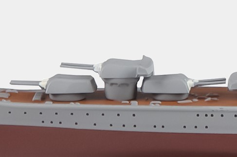 Tone Eaglemoss 1:1100 die-cast WWII Tone-class Heavy Cruiser IJN 1942 EMGC24