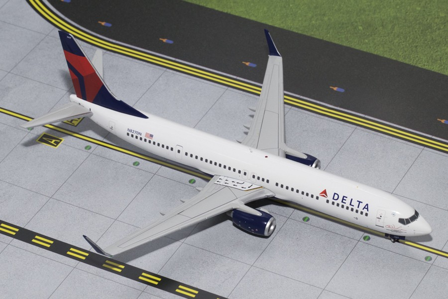 Highly Detailed Gemini Jets Delta Boeing B737 900 Reg