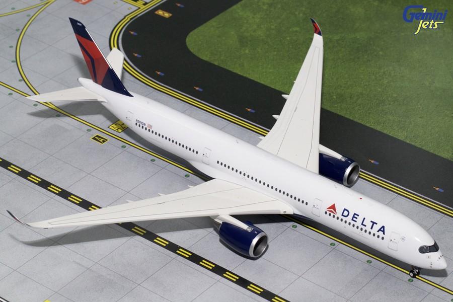 Delta air lines airbus a350-900 //// 1:200 nuevo embalaje original n501dn//PPC Desktop Model New