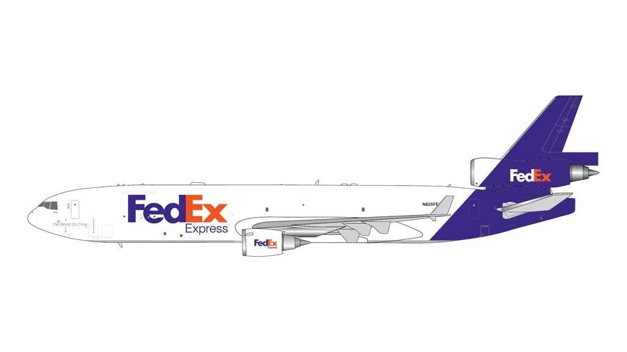 Gemini Jets UPS McDonnell Douglas MD-11F 1//400 GJUPS1829