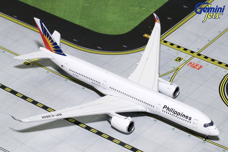 GeminiJets Philippines A319  1:400 Scale Vehicle