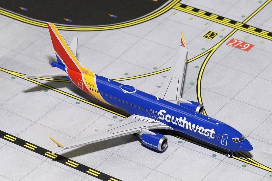 Southwest Boeing 737 Max8 N8705q Gemini Gjswa1676 Scale 1