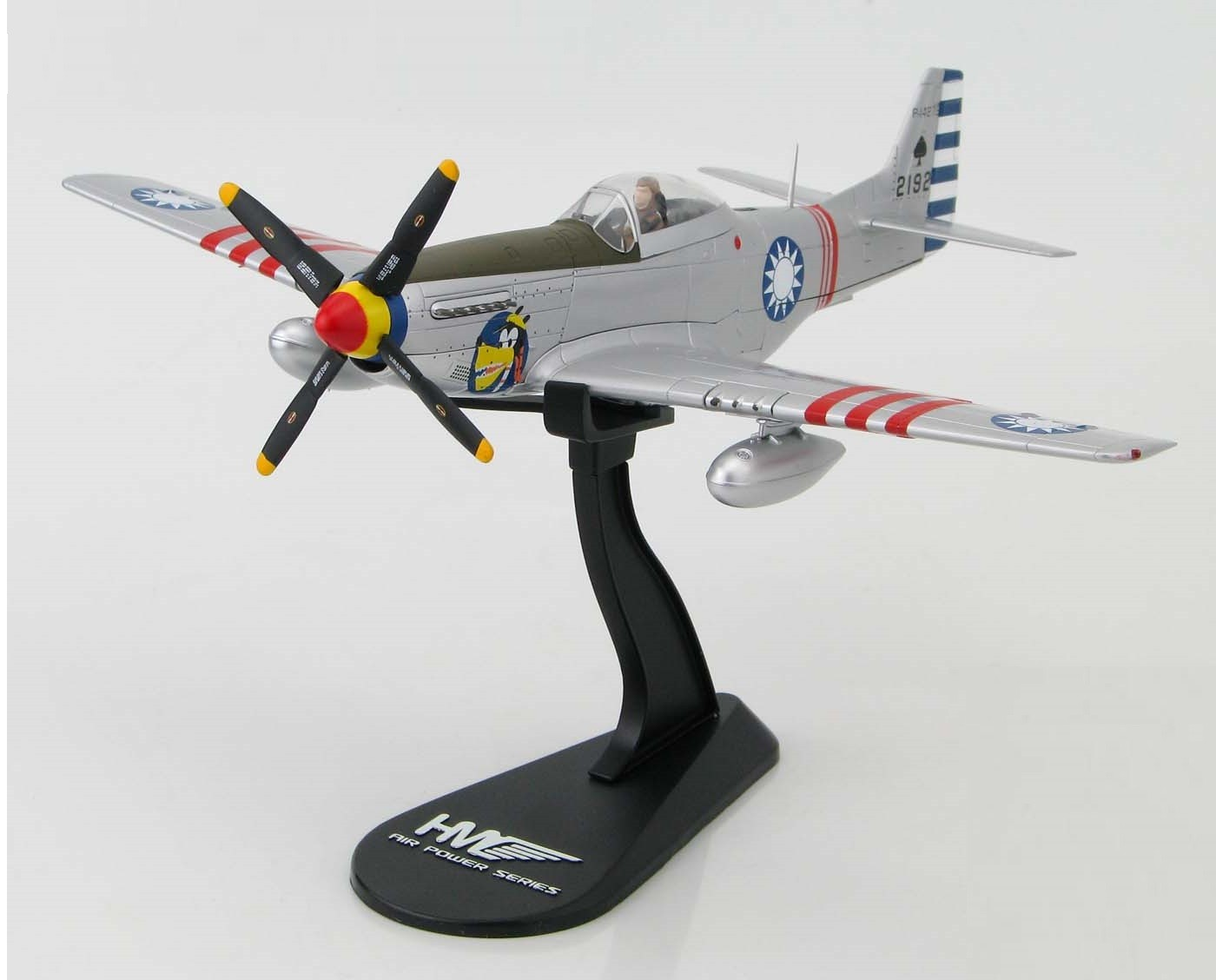 Hobby Master Air Power Series Highly Detailed P 51d