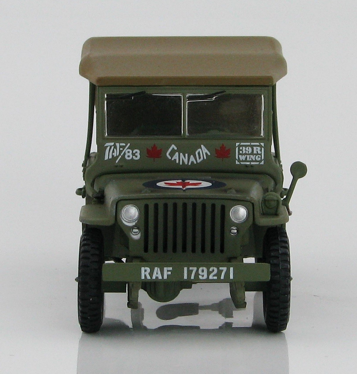 Military Vehicles For Sale Canada >> Hobby Master, Armor master Series RCAF Willys MB Jeep 39r ...