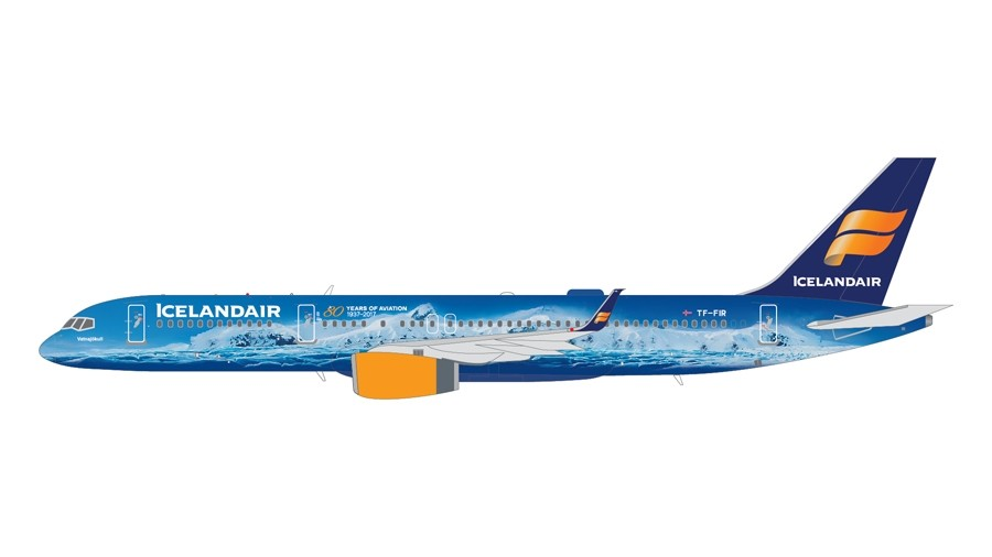 Gemini200 1:200  Boeing 757-200  Icelandair TF-FIR  G2ICE676  Modellairport500