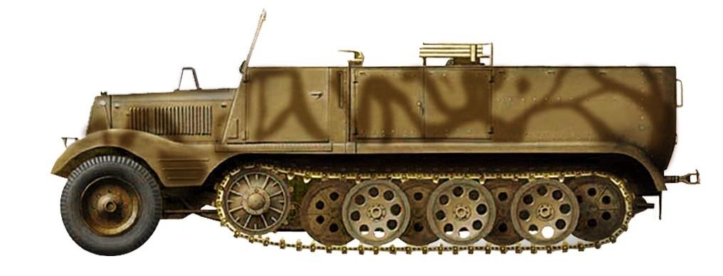 Sd Kfz 11 4 German 1 72 Hg5103 Eztoys Diecast Models