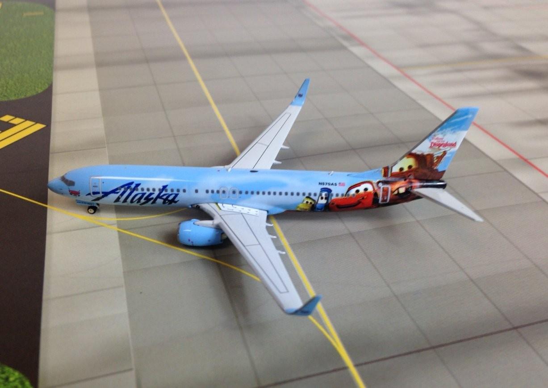 Phoenix Models Alaska Airlines B737 800w Reg N570as 1 400