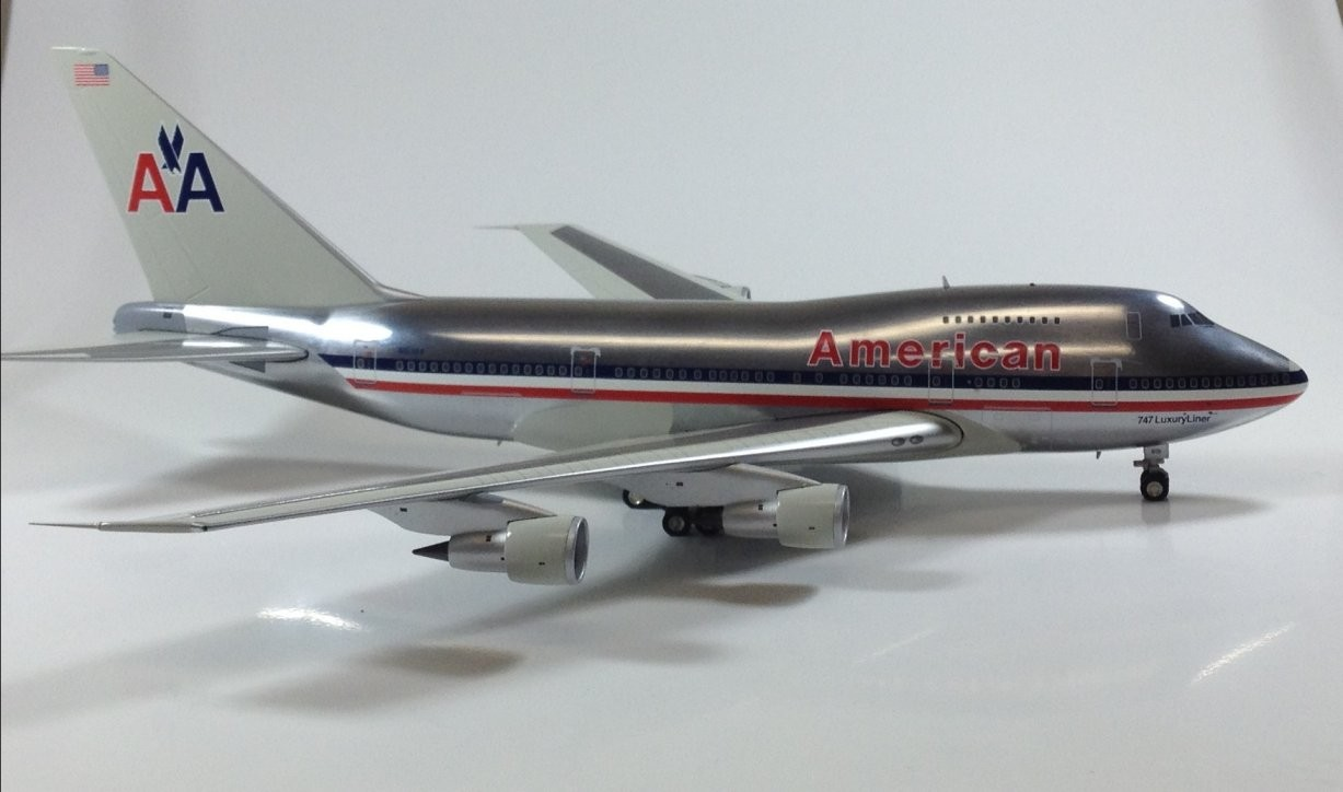 American Airlines Boeing 747sp Quot 747 Luxury Liner Quot Polished