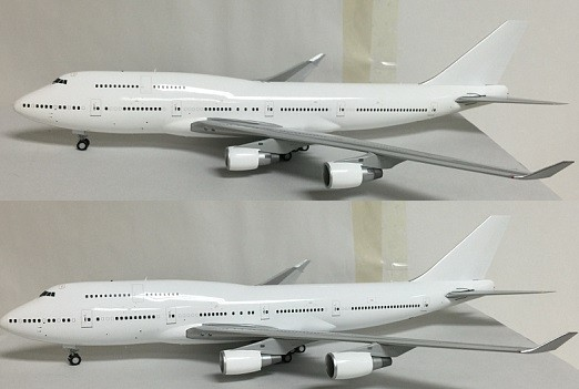 Sale! Boeing 747-400 General Electric Engines Blank JC2WHT951 Scale 1:200