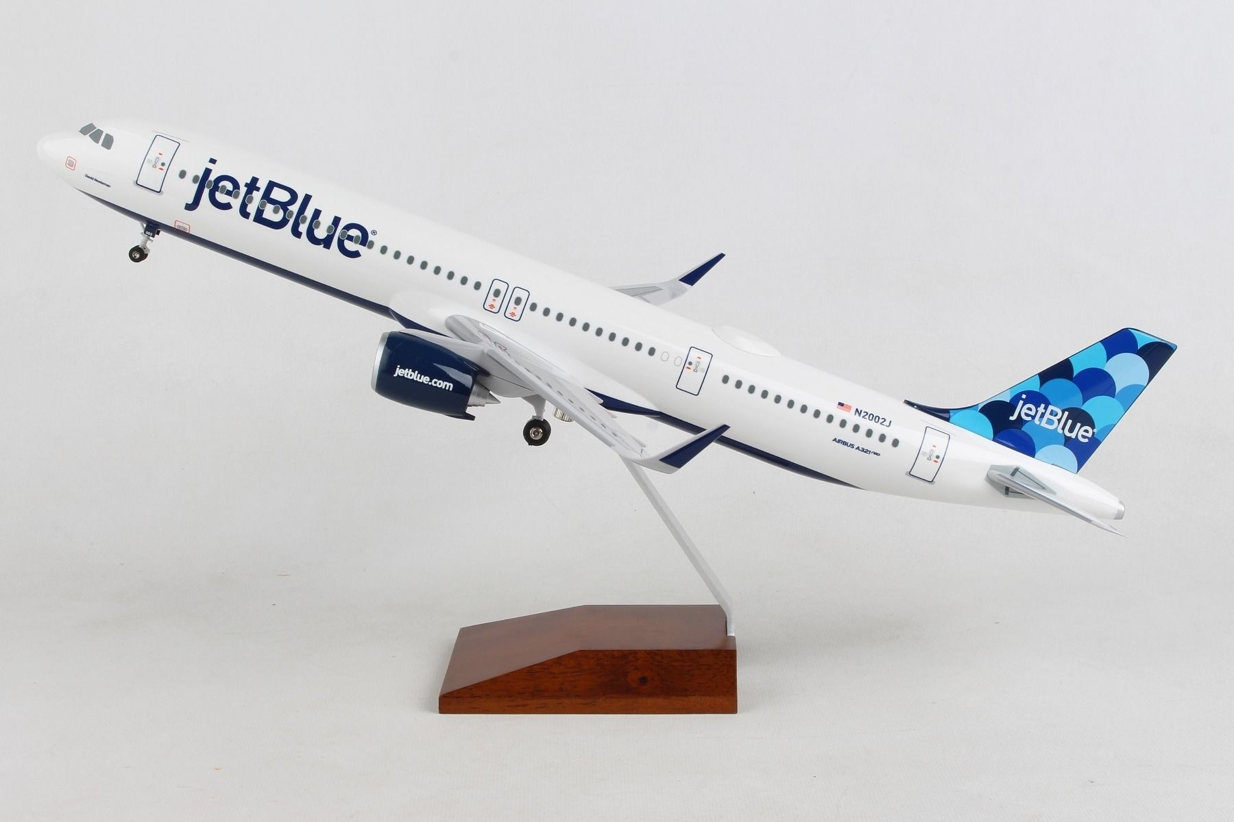 Skymarks SKR8371 Jetblue Airbus A320 NY/'s Hometown 1//100 Desk Top Model Airplane