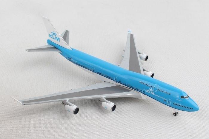 """Herpa Wings 1:500 529921-001  KLM B747-400 /""""City of Nairobi/"""" PH-BFN"""