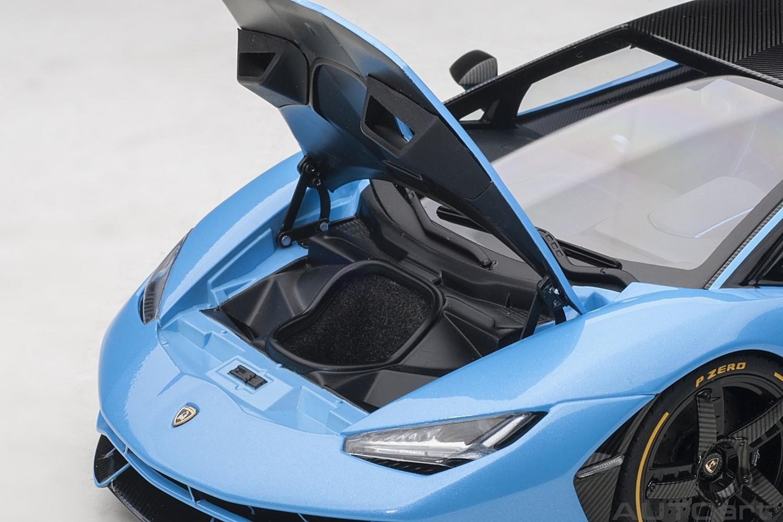 Light Blue Lamborghini Centenario Cepheus Autoart 79113 Scale 1 18