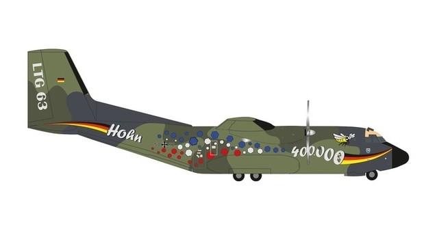 Herpa Wings 1:200  Transall C-160  Luftwaffe LTG 61  50+48   559201