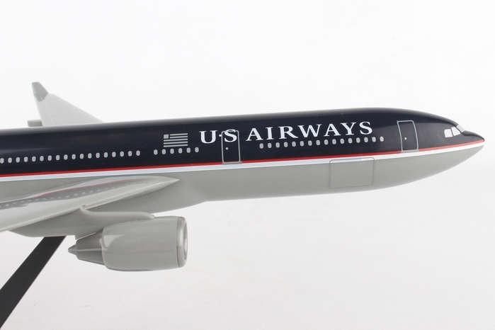 US Airways Airbus A330-300 N67OUW dark blue livery LP0799 scale 1:200
