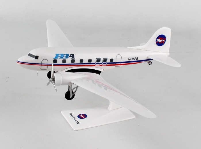 Flight Miniatures PBA Provincetown Boston Airlines Douglas DC-3 1:100 Scale