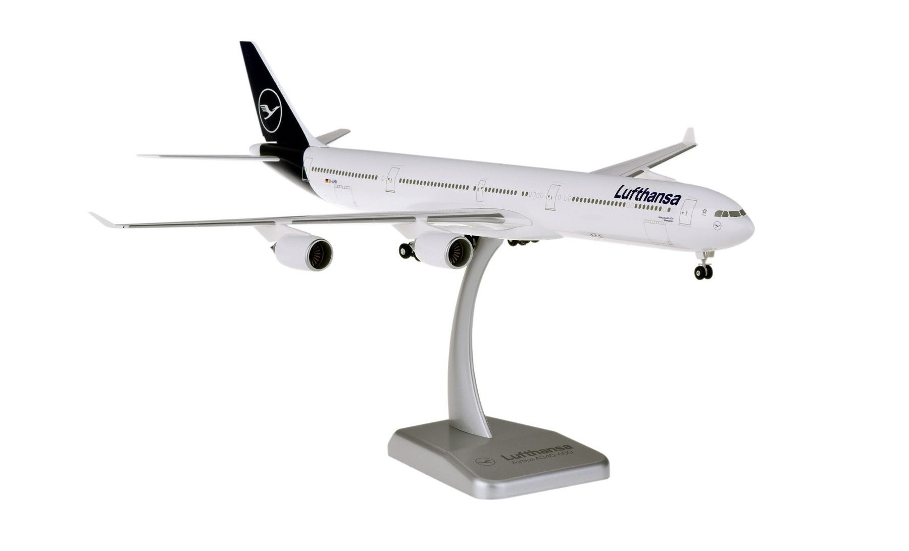 Lufthansa New Livery Airbus A340-600 D-AIHH w/Gears & Stand Hogan HGDLH005 scale 1:200