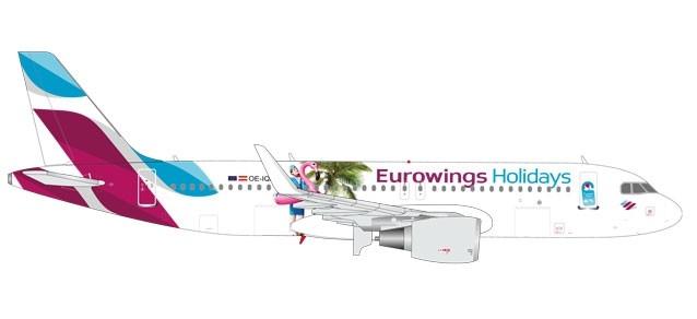 Herpa 562669-1:400 Eurowings airbus a320-nuevo embalaje original