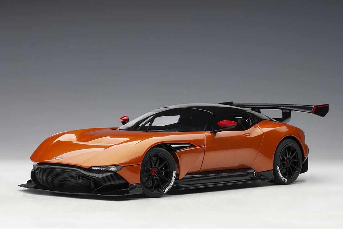 Orange Aston Martin Vulcan Madagascar Orange Autoart 70264 Die Cast Scale 1 18 Eztoys Diecast Models And Collectibles