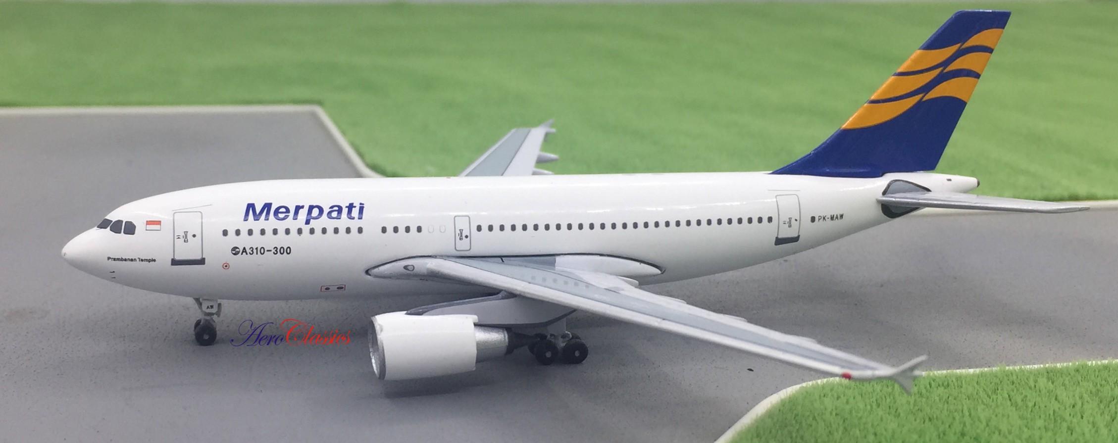 Merpati Airbus A310-300