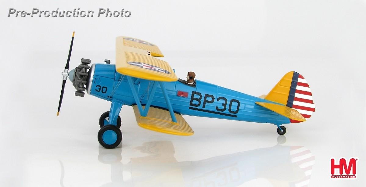 PT-17 Kaydet Boeing British Flight School Hobby Master HA8108 scale 1:48