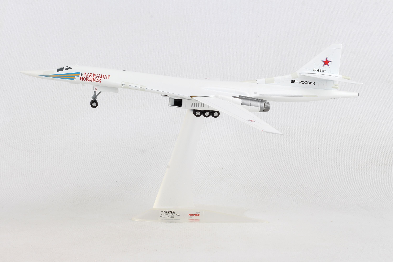 Airplane Russian AF TU-160 Blackjack Alexander Novicov Diecast  Model Aircraft