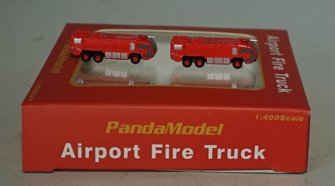 Airport Fire Truck PM19007 by Panda Models scale 1:400