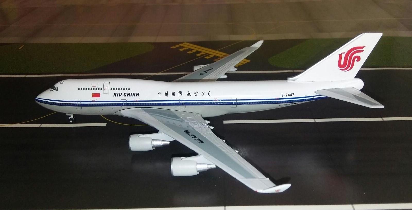 Air China Boeing 747-4J6 B-2447 Gemini Jets GJCCA005 scale 1