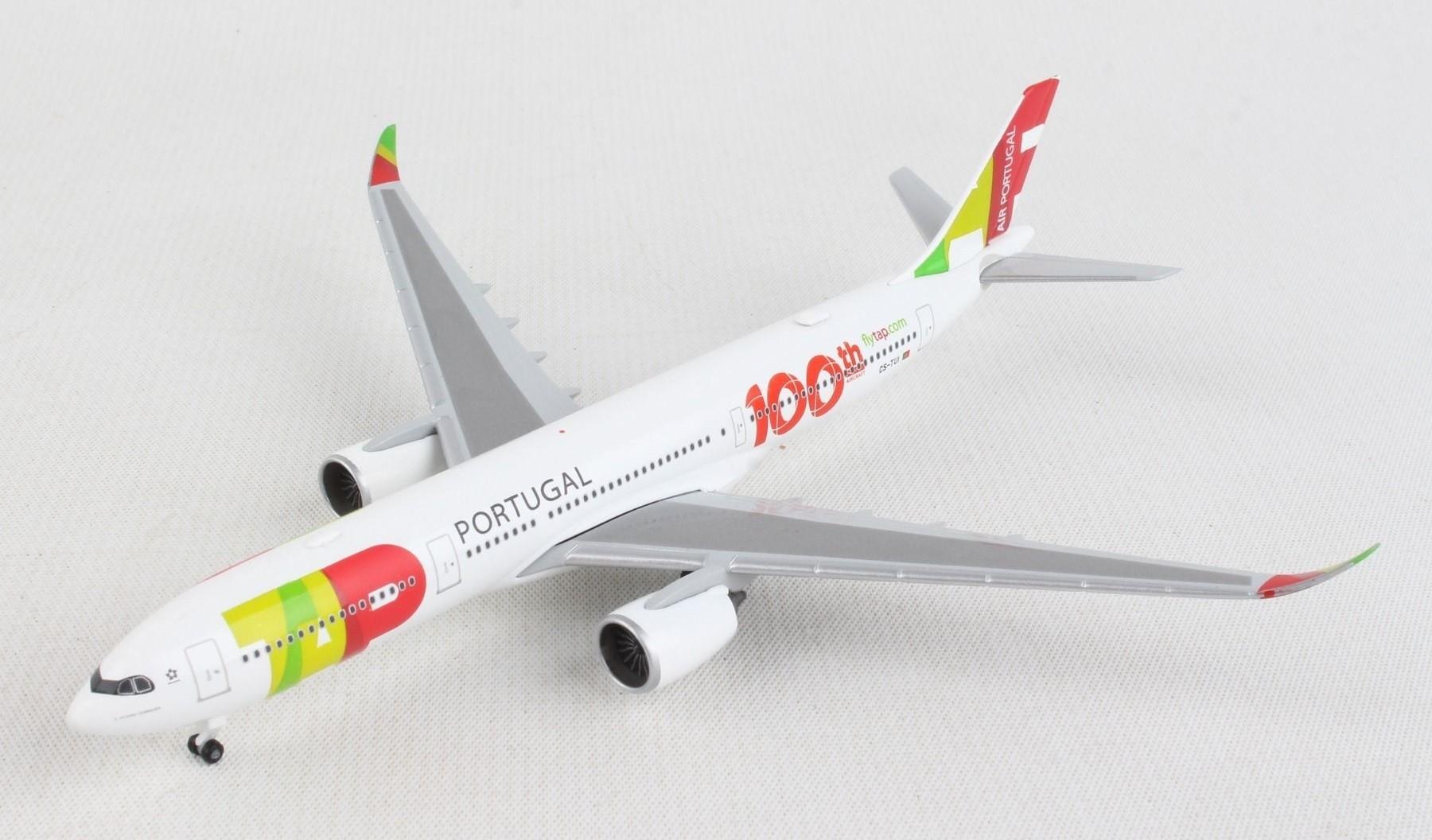Herpa HP612227-001 AIRBUS A330-900 neo TAP AIR PORTUGAL 1:200 MODELLINO DIE CAST compatibile con