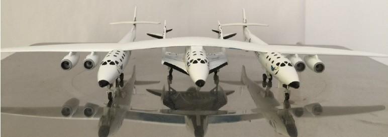 Sale! Virgin Galactic White Knight Two N348MS JCWings VG4VGX001 1:400