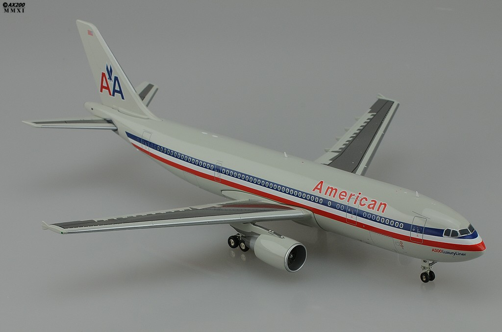 American A300 600 N8067a Grey Livery Jcwings 1 200