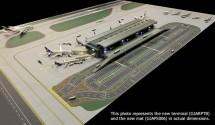 GeminiJets, Airport Terminal Set,  Airport  Airside / Land side Scale 1:400 GJARPTB