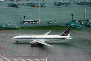 Aeroflot Boeing B777-200ER Reg# VP-BAS Phoenix 11160 Scale 1:400