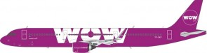 Sale! WOW Airbus A321neo registration TF-SKY Phoenix 11415 1:400