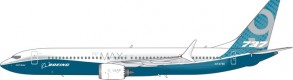 Boeing House Color  737-9Max N7379E Phoenix 11486 Scale 1:400