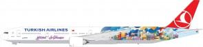 Sale! Turkish Airlines B777-300ER ST-SFO TC-JJU Eagle 200007 Scale 1:200