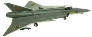 Saab Draken J35 10/56   AV72-41001   Scale 1:72