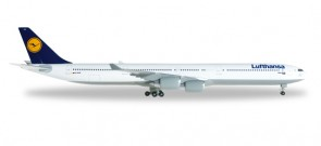 "Lufthansa Airbus A340-600 Reg# D-AIHZ ""Leipzig"" Herpa Wings 507417-003 Scale 1:500"