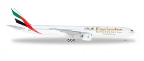 Emirates Boeing 777-300ER A6-EQA die-cast Herpa 518277-004 Scale 1:500