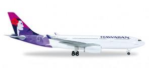Hawaiian Airlines Airbus A330-200 Kukalani'ehu Reg# N373HA Herpa 519137-001 Scale 1:5000