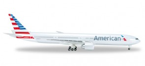 American Airlines B777-300ER Reg# N731AN Herpa 523950-002  Scale 1:500