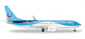 TUIfly 737-800 New 2014 Livery D-ATUM Herpa HE526692  1:500