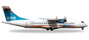 "Arkia Israel ATR-72-500 ""4X-AVZ""  Herpa HE527262 Scale 1:500"