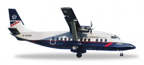 British Express Short 360 G-BVMX Herpa HE527279 Scale 1:500