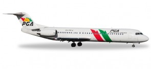 "Portugalia Fokker F-100 CS-TPC ""Flamingo""  HE527309 Scale 1:500"