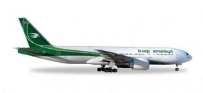 Iraqi Airways  Boeing 777-200LR Herpa 527484 Scale 1:500