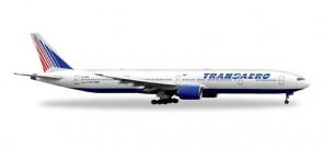 Transaero Boeing 777-300 Herpa 527507 Scale 1:500